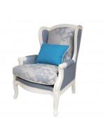 DF830 Blue Linen (M01) Кресло коллекция White Rose