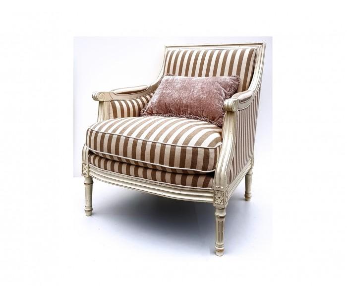 DF814 S2 Кресло коллекция Provence Noir&Blanc