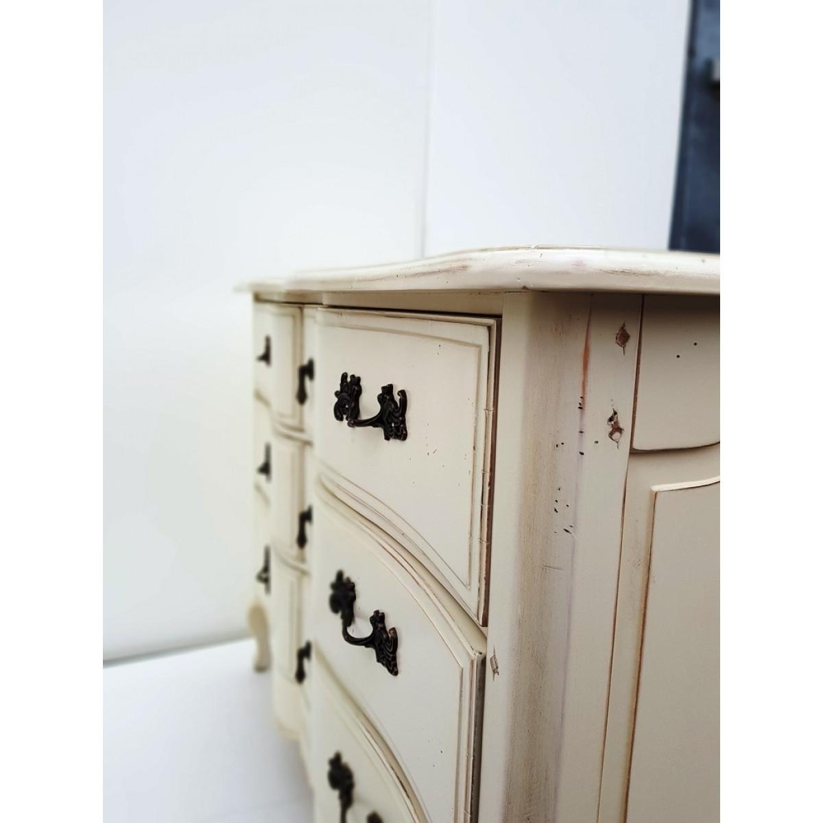 DF815 (S2)Комод коллекция Provence Noir&Blanc