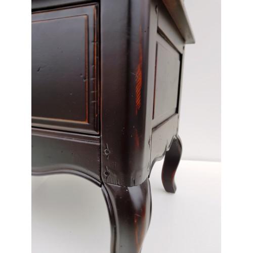 DF860 (A08+S01) Витрина однодверная, коллекция Provence Noir&Blanc