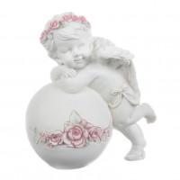 SU08-0013 Фигурка ангела на шаре