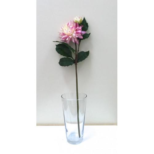 FL99-0015 Георгина  эксклюзивная розовая ( 2 цветка)
