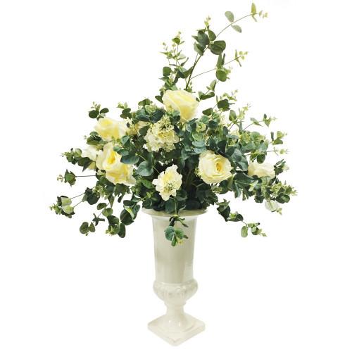 DRV2H Ваза с цветами Dolce rosa 80 см