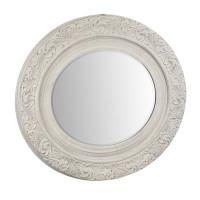 AN08-0006 Зеркало в белой деревянной раме