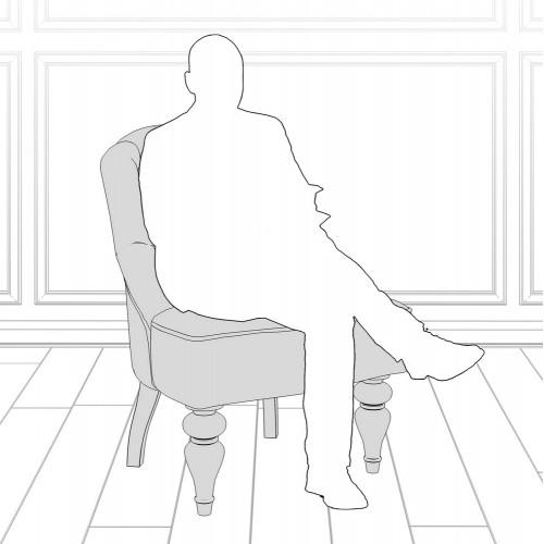 M08-W-0372 Кресло Шоффез коллекция L'Atelier Du Meuble