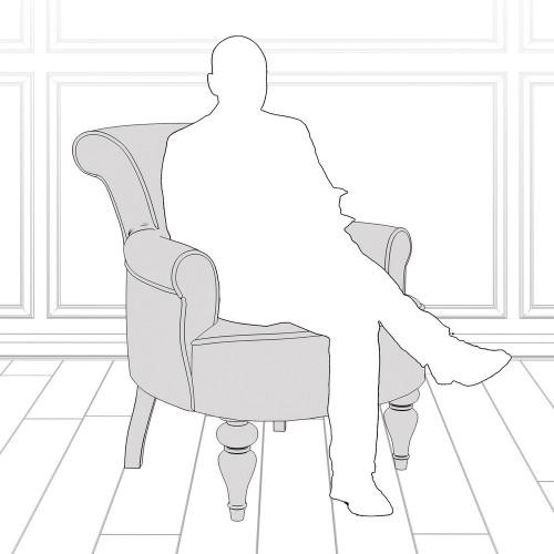 M11-W-0367 Кресло Перфетто коллекция L'Atelier Du Meuble
