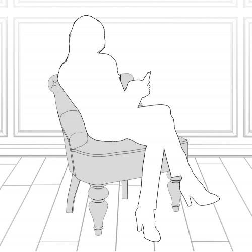 M13-B-0365 Кресло Крапо коллекция L'Atelier Du Meuble
