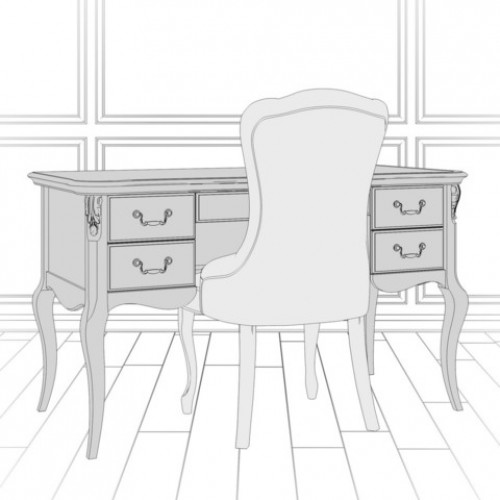 G111M-K02-G Кабинетный стол