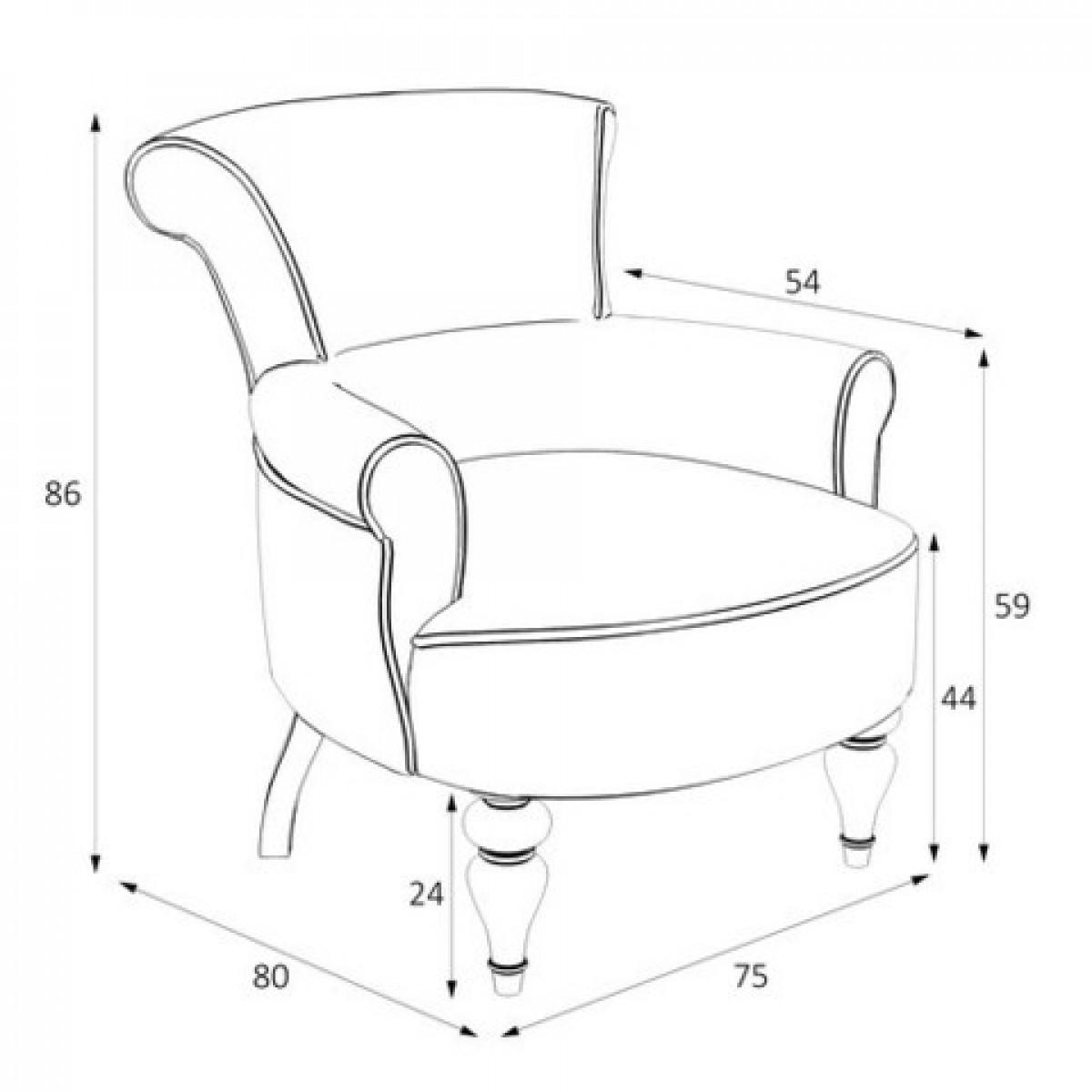 M11-B-0366 Кресло Перфетто коллекция L'Atelier Du Meuble