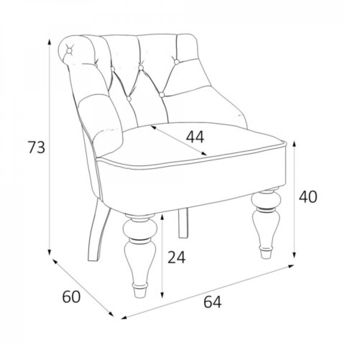 M13-B-E18 Кресло Крапо коллекция L'Atelier Du Meuble