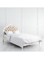 R112g Кровать с мягким изголовьем 120*200 коллекция Romantic Gold