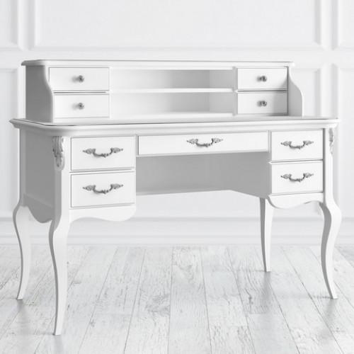 S111M-K00-S Кабинетный стол пристенный коллекция Silvery Rome