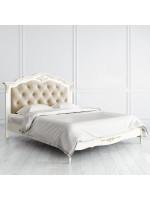 R316g Кровать с мягким изголовьем 160*200 коллекция Romantic Gold