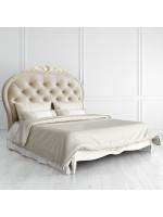 R516D-К02-AG-B01 Кровать с мягким изголовьем 160*200 коллекция Romantic Gold