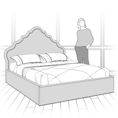 K08-G-B05 Кровать с подъемным механизмом