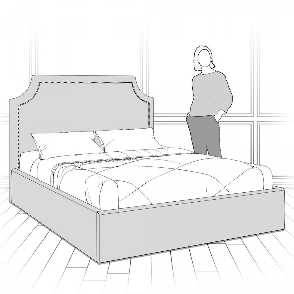 K09-G-B05 Кровать с подъемным механизмом