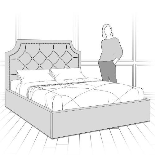 K09Y-N-B08 Кровать с подъемным механизмом