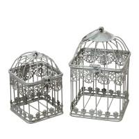 Декоративные клетки и кормушки для птиц