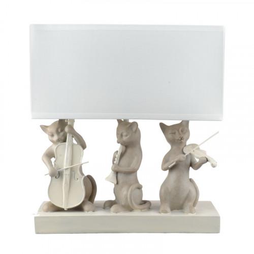 QJ99-0115 Лампа настольная кошки