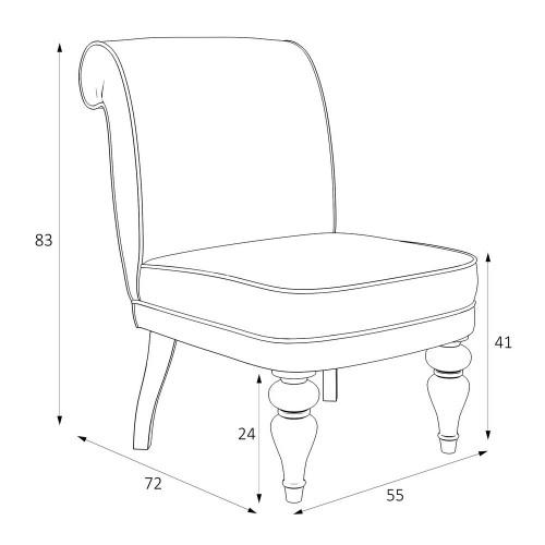 M16-B-0367 Кресло Лира коллекция L'Atelier Du Meuble