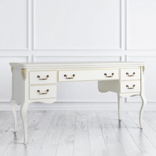 R111L-K02-G Кабинетный стол широкий коллекция Romantic Gold