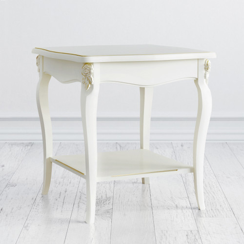 G113-K02-G Столик квадратный коллекция Golden Rose