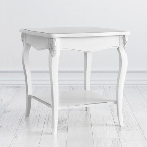 S113-K00-S Столик квадратный коллекция Silvery Rome