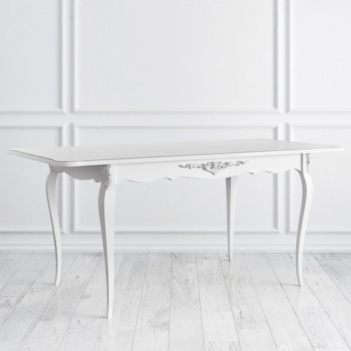S105-K00-S Стол обеденный раскладной коллекция Silvery Rome