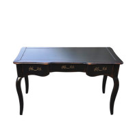 DF881D (S01) Кабинетный стол коллекция Provence Noir&Blanc
