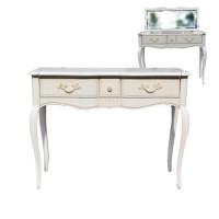DF890 (M01)Туалетный стол с зеркалом коллекция Provence Noir&Blanc