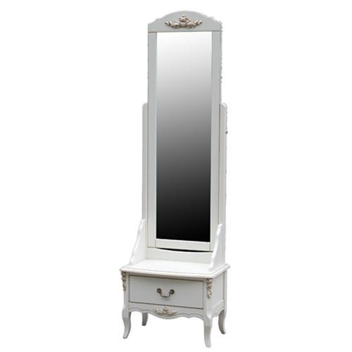 F6630Зеркало напольное коллекция White Rose